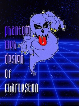 Phantom Web Design's side logo